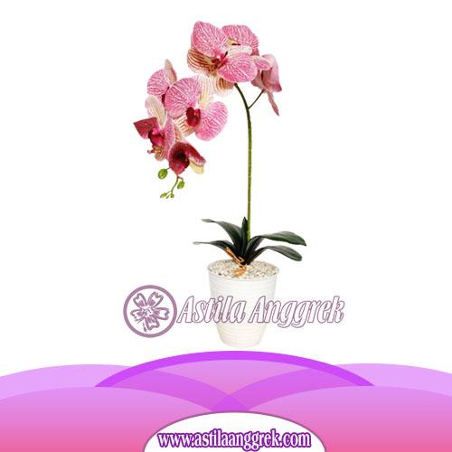 Bunga Anggrek Latex Artificial AS AGRL-001