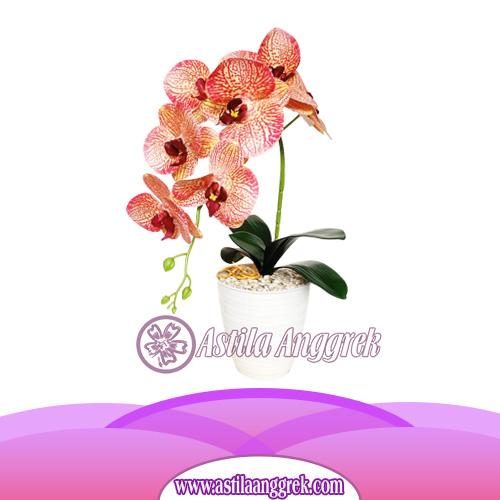 Bunga Anggrek Latex Artificial AS AGRL-002